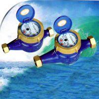 宁波宁生水表 旋翼湿式4分家用冷水表 数字读数 铜接铜罩 现货