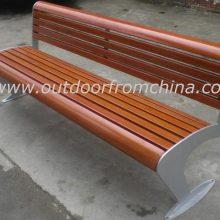 供应小区时尚休闲椅,别墅高档休闲椅,庭院耐用木质休闲椅