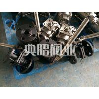 供应碳钢弹簧自动归位复位球阀