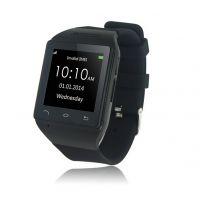 2014厂家直销外贸S18蓝牙智能手表/安卓智能手环/蓝牙同步手表/智能产品(恒淼科技)