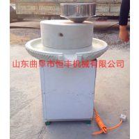 云南茶楼专用石磨机 小型豆浆石磨机 恒丰牌石磨机价格
