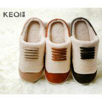 冬季新款 韩版羊羔绒保暖趟邦情侣款棉鞋鞋 男士女士室内家居拖鞋