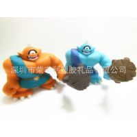 PVC怪兽玩具 出口动漫公仔 东莞塑胶玩具厂家