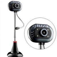 摄像头 高清免驱 视频 带麦克风 带灯 免驱动摄像头 电脑摄像头