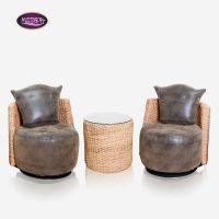 供应预售编藤家具会所餐厅椅子编藤椅休闲椅子组合/休闲椅子餐台3件套