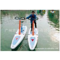 【厂家出售】水上自行车 双人水上自行车 水上游乐设备出口
