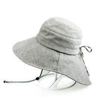 青岛帽子厂家专业帽子生产厂家 长期加工夏季盆帽 女士沙滩帽