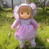 厂家直批 女孩***爱可爱洋娃娃 公主娃娃 布娃娃 挂饰 站姿挂布