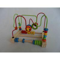 木制玩具 益智玩具串珠绕珠游戏 迷你小绕珠早教益智类玩具