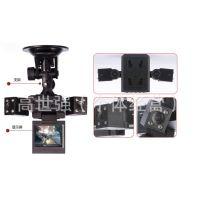 【变形金刚】旋转双镜头 同步拍摄 红外夜视 行驶 行车记录仪