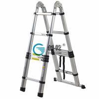 [梯子购买]创乾家用人字梯多高合适家用铝人字梯|多高梯子都行