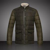 批发加工定制 男式羽绒服 立领外套短款羽绒服男式 2014新款