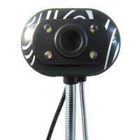 供应800万高清摄像头批发 免驱动 独特青花前脸 带灯带麦克风