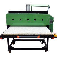 液压双工位大型烫画机、滚筒烫画机器、热转移印花设备