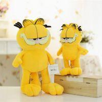 加菲猫的幸福生活中的肥猫毛绒公仔玩具