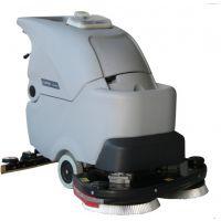 供应潍坊洗地机高美全自动双刷地面清洗机