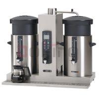 荷兰Animo商用咖啡机 双桶台上型咖啡机 咖啡店设备 CB 2x10 10升