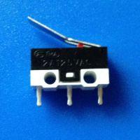 厂家生产优质微动开关WK1-04A 弯曲柄,2A125V小微动