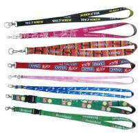 厂家供应彩色热转印工作挂带 工作证挂绳 可批发