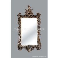 欧式镜 KTV酒吧会所装饰品仿古壁挂镜子 新房装修结婚礼物化妆镜
