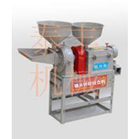 碾米粉碎组合机 新型碾米粉碎机 立式铁棍碾米组合机