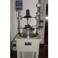 单层玻璃反应釜/反应器//玻璃反应器/高压反应釜/欧士特高压反应釜
