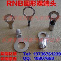 供应RNB60-10圆形线耳 RNB冷压接线耳 温州圆形裸端头 冷压端子