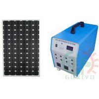 80W系统 350W输出家用太阳能发电设备供照明电风扇 GXY-D4080