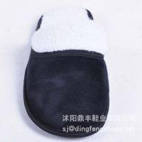 批发家居拖鞋TPR软底地板拖 冬季外贸棉拖鞋 毛绒棉拖批发DFSJ052