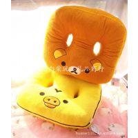 批发供应 黄小鸡轻松小熊坐垫/双孔坐垫 单个价 0.5KG