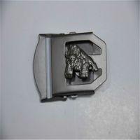 厂价批发生产铁质军扣,电镀哑黑色皮带扣,休闲织带铁皮扣
