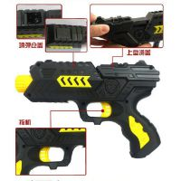 实惠低价款400发软弹水弹枪 安全包装玩具软弹枪 使用简单刺激