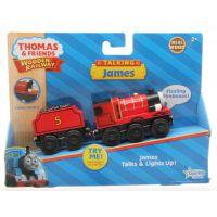 正版木制托马斯磁性小火车玩具 全新专柜正品 声光詹姆士