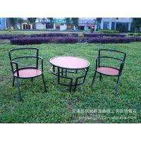 滢发 儿童 酒吧 户外 桌椅 三件套铁艺创意圆桌一桌二椅 yf382
