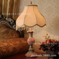 欧式 美式  调光台灯 卧室台灯 婚庆礼品田园台灯灯饰灯具