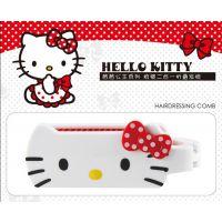 可爱卡通 Hello Kitty折叠梳 迷你折叠发梳 卡通带镜子魔法梳子