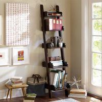 鑫鑫隆美式乡村风格老建筑木搁物架 展示架置物架书架乡村家具