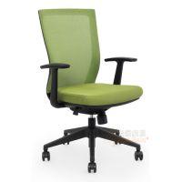 供应深圳办公椅厂家,网布职员电脑椅定制,弓形脚会议椅批发价格