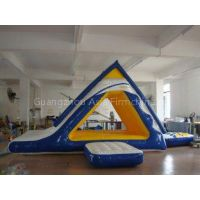Inflatable Water Sports Trampoline Combo with High - Strength PVC Tarpaulin
