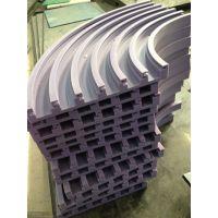 供应精度高,发货快 塑料链板弯轨,T型槽链条导轨定制(输送机专用)