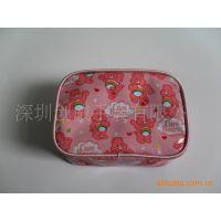 厂家直销  粉红卡通小熊系列  女士化妆包