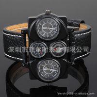 手表批发 品牌厂家礼品表  指南针温度计军表男士石英表