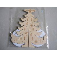 厂家直销 木质圣诞挂件 节庆用品 饰品挂件