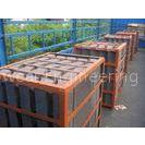 Cr-Mo Steel Lifter Bars Alloy Steel Castings With HRC33~42 Hardness For AG Mill DF075