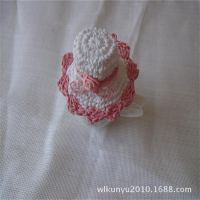 厂家直销纸绳钩针宠物帽子 颜色款式各异 欢迎中外客户选购价格优