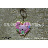 钥匙扣批发 卡通PVC钥匙扣  可爱熊宝贝滴塑钥匙扣 可加工定制
