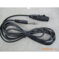 外贸JS-153  2.4米麦克风话筒线