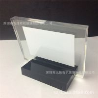 按需定制有机玻璃台卡 酒水牌 桌牌 亚克力餐牌 压克力餐饮用品