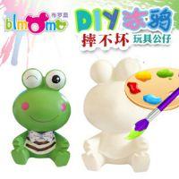 【Blmmo】搪胶玩具 儿童彩绘玩具批发,摔不坏石膏彩绘娃娃玩具