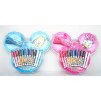 正品真彩 D216120迪士尼20色变色魔法喷笔 安全无毒水彩笔喷喷笔